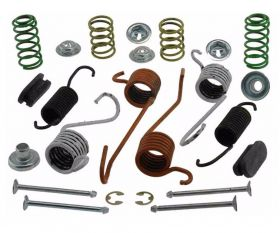 1986 1987 1988 1989 1990 1991 1992 1993 1994 1995 1996 Cadillac Commercial Chassis Rear Drum Brake Hardware Kit (24 Pieces) REPRODUCTION Free Shipping In The USA