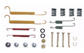 1987 1988 1989 1990 1991 Cadillac Deville Rear Drum Brake Hardware Kit (24 Pieces) REPRODUCTION Free Shipping In The USA