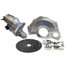1955 1956 1957 1958 1959 1960 1961 1962 1963 1964 Cadillac Engine to Turbo HydraMatic (400) Transmission Conversion Adapter Kit With Starter (See Details) NEW