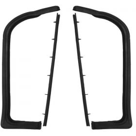 1959 1960 Cadillac 2-Door Front Door Vent Window Kit (4 Pieces) REPRODUCTION Free Shipping In The USA
